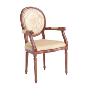 Empire with armrests front