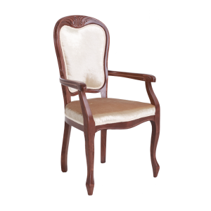 Versal with armrests front